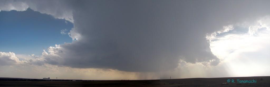 Darrouzett, TX supercell panorama