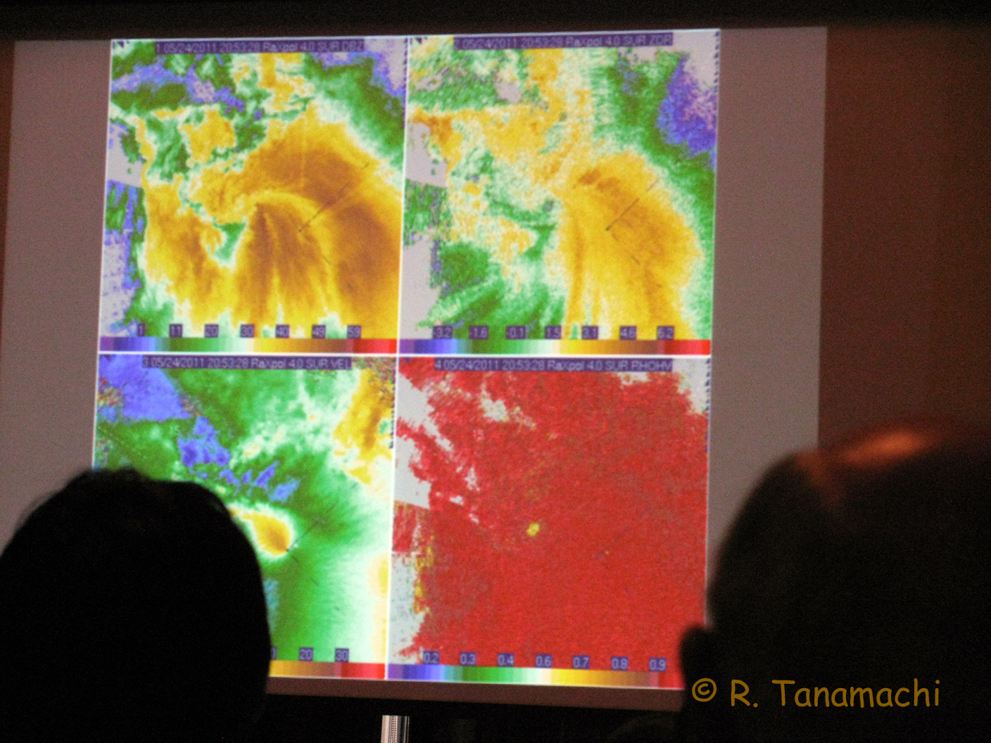 "Dr. Andy Pazmany ""debuts"" RaXPol data collected in the 24 May 2011 El Reno-Piedmont-Guthrie, OK tornado"