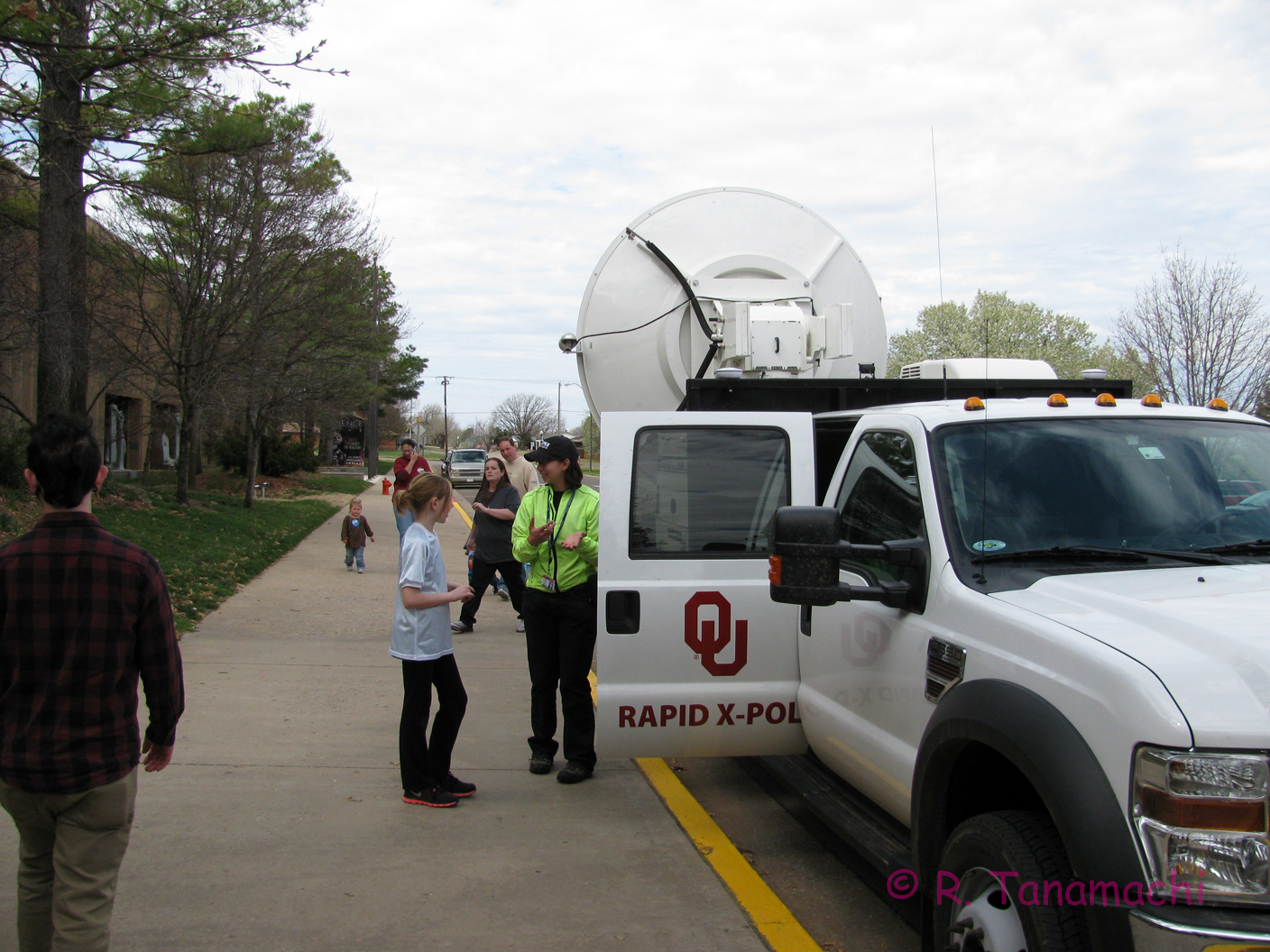 RaXPol demo at the OKC Science Museum