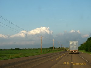 Cumulus patheticus south of Canadian, TX on 12 April 2012