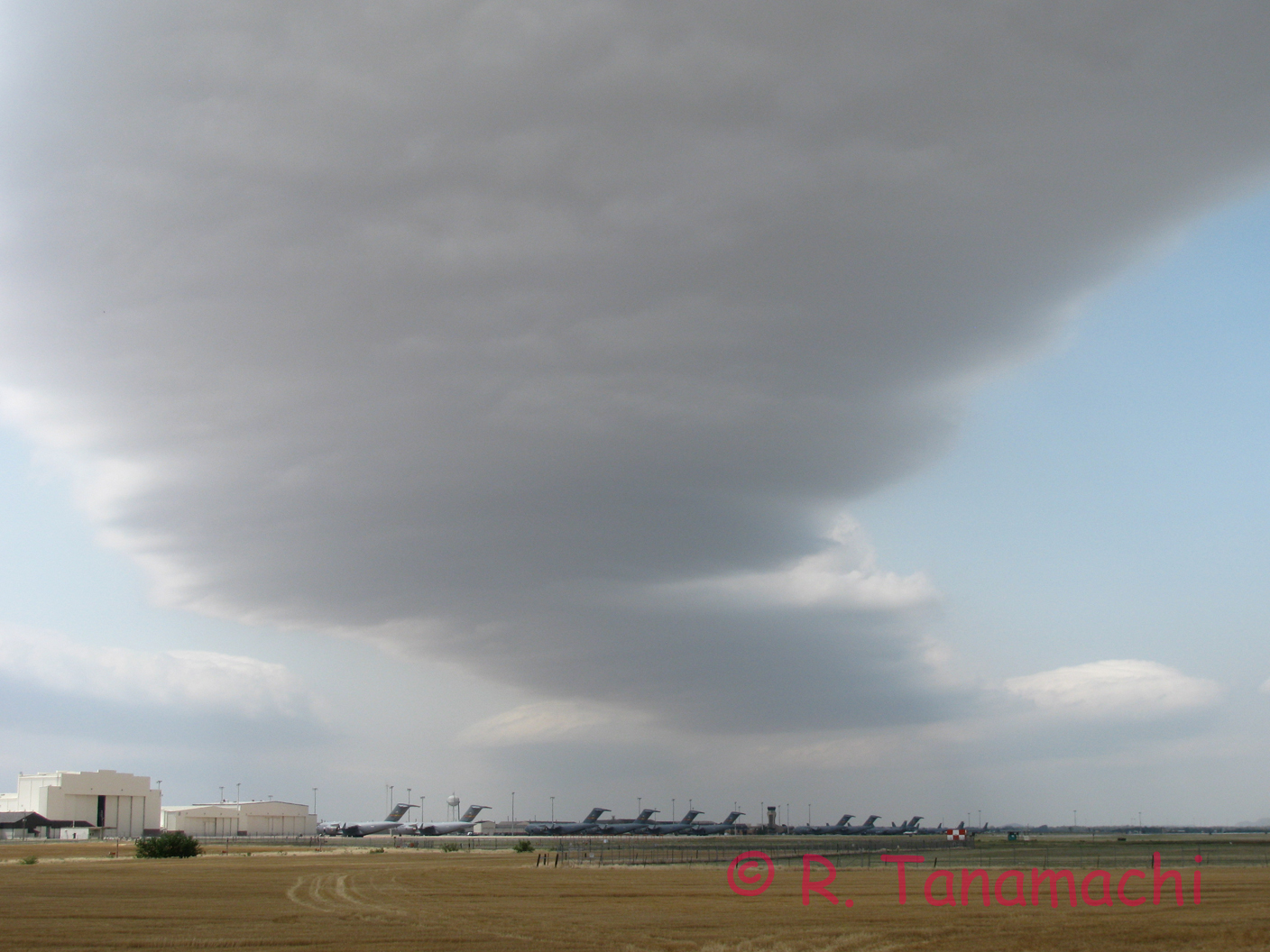 Horizontal convective roll over Elgin Air Force Base near Altus, OK