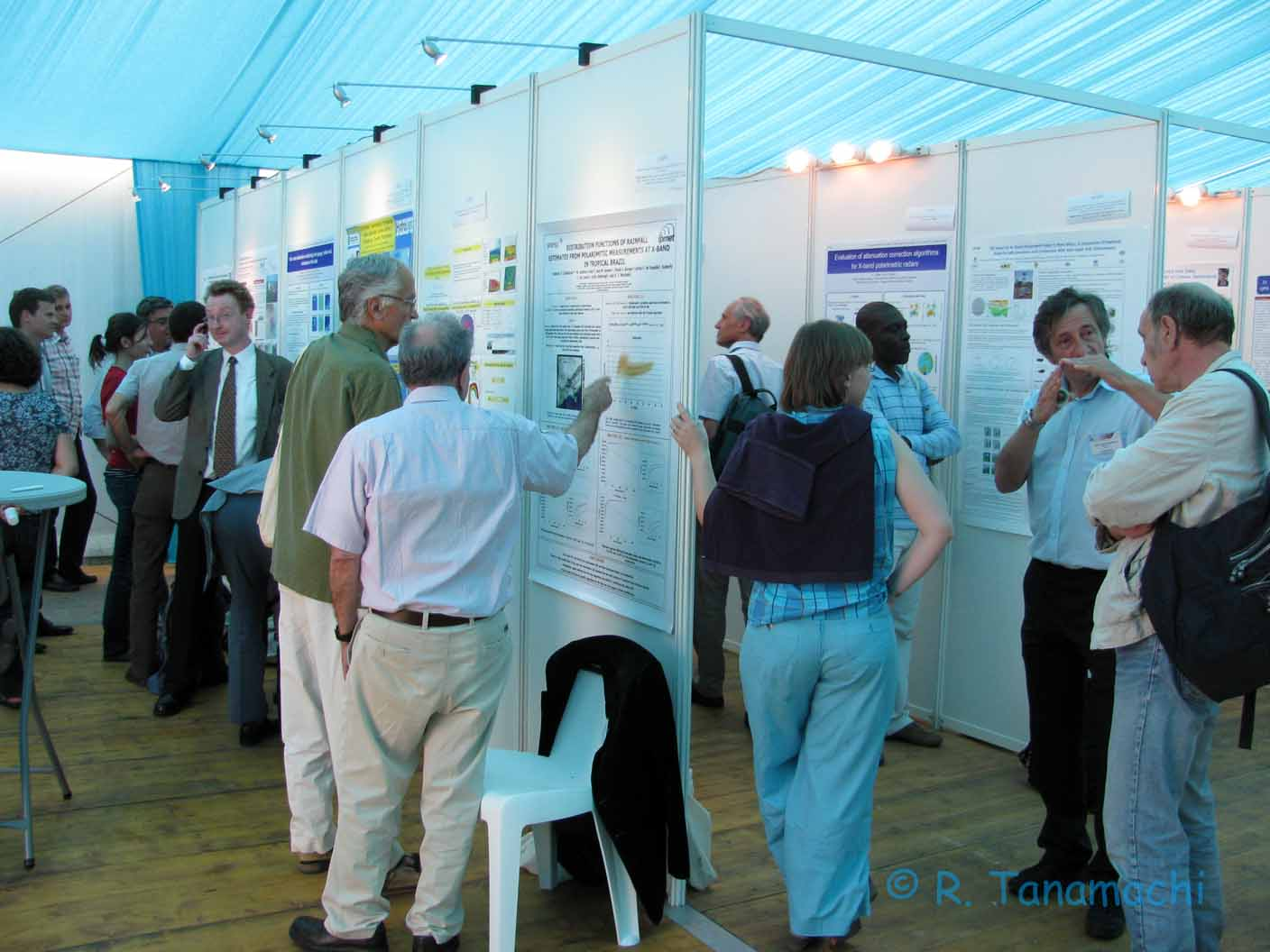 Poster session at ERAD 2012