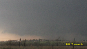 Faxton, OK Wall Cloud