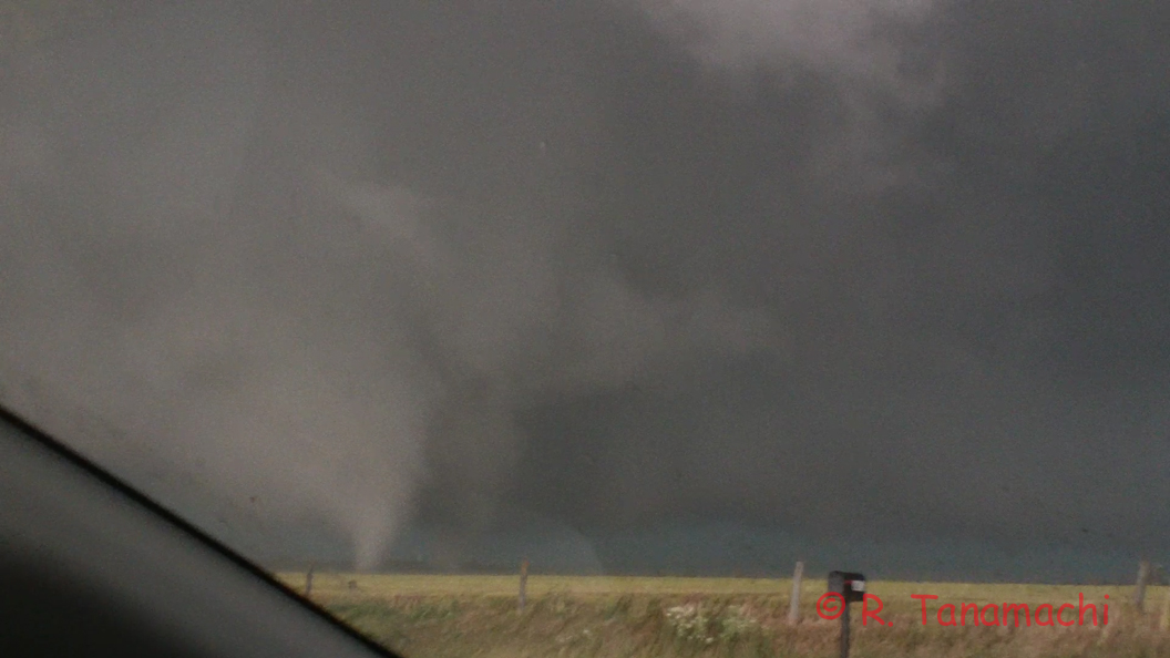 Frame grab of the El Reno, OK tornado