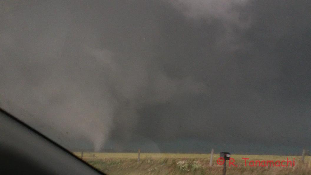 Frame grab of the El Reno, OK tornado