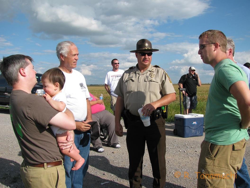 Deputy Doug Gerten (Center)